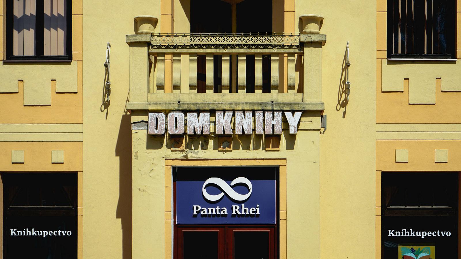 dom knihy pantha rhei v trenčíne