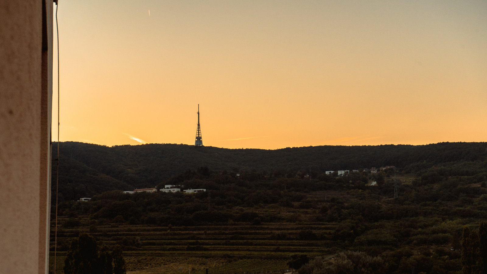 východ slnka v bratislave kamzík